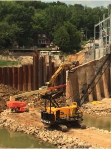 Dam-RepairToSheetPilingCofferDam